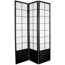 Zen Asian Room Divider in Black