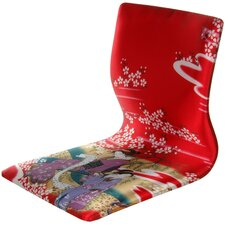 Tatami Geisha Meditation Fabric Lounge Chair