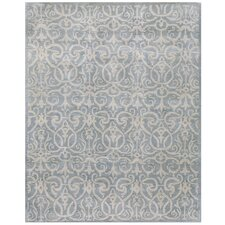 Rajput Light Blue Archaic Rug