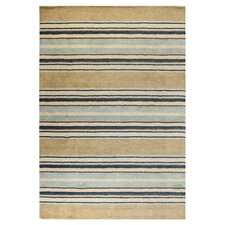 Contempo Light Blue Stripes Rug