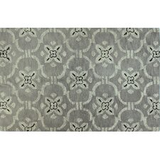 Venezia Platinum Strings Rug