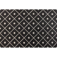 Verona Black Diamond Lattice Rug
