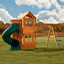Glendale Wood Swing Set