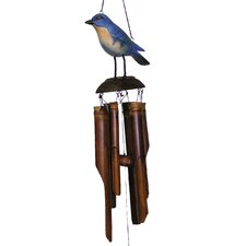 Eastern Bluebird Wind Chime