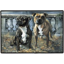 Staffordshire Bull Porch Doormat