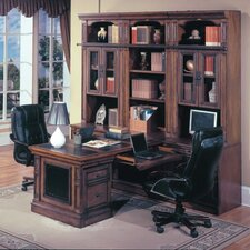 DaVinci L-Shape Desk Office Suite