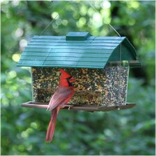 Seed Barn Bird Feeder