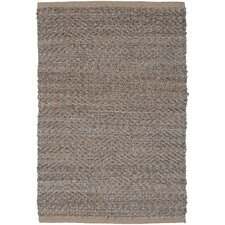 Natural Fiber Medium Gray Rug