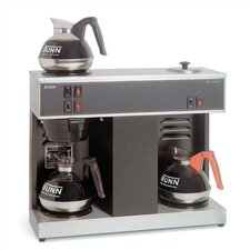 Pour-O-Matic Three-Burner Pour-Over Coffee Brewer