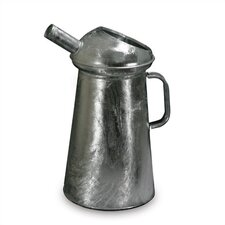 4 Quart Fixed Spout, Galvanized Measure