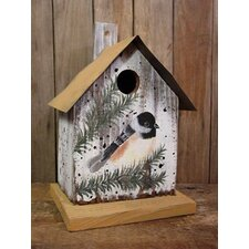 Chickadee Bird House