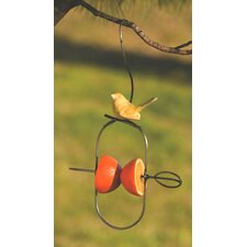 Fruit Spear / Ceramic Bird Feeder