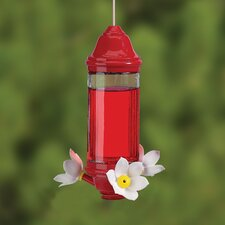 Crystal Lantern Hummingbird Feeder Glass