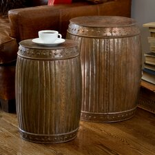 Fluted End Table (Set of 2)