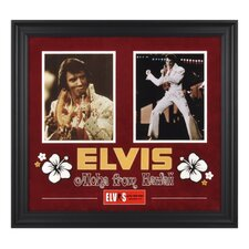 "Elvis Presley ""Aloha From Hawaii"" Framed Presentation - 23"" X 25"""