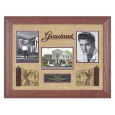 "Elvis Presley ""Graceland"" Framed Presentation - 19.25"" X 28.75"""