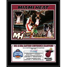 Miami Heat 2012 Eastern Conference Champions Sublimated Plaque