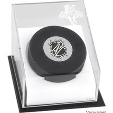 Hockey Puck Logo Display Case