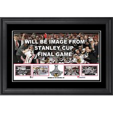 NHL 2013 Stanley Cup Champions Framed Collage