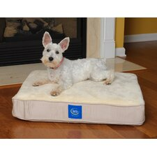 True Response Memory Foam Dog Bed in Cream