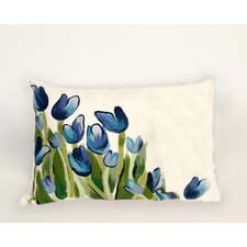Visions III Allover Tulips Pillow