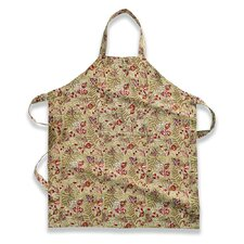 Winter Garden Wreath Apron