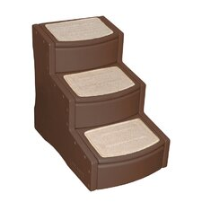 Easy Step III Pet Stairs in Chocolate