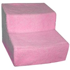 Soft Step II Pet Stairs in Pink