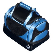 Aviator Bag Pet Carrier in Caribbean Blue