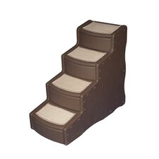 Easy Step IV Pet Stairs in Chocolate