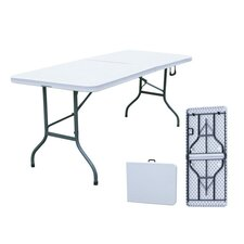 All Purpose Fold-in-Half Table in Grey