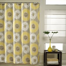 Bloom Polyester and Cotton Shower Curtain
