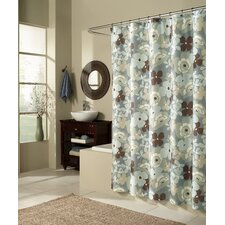 Pop Art Garden Microfiber Shower Curtain