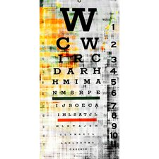 Eye Chart Wall Art