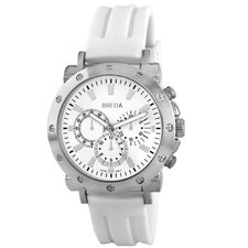 "Men""s Tripp Watch in White"