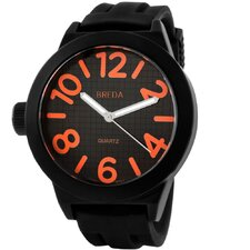 "Men""s Jaxon Watch in Orange"