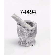 The Byzantine Marble Mortar and Pestle in Fossil