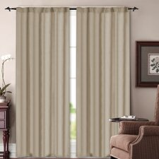 Soho Rod Pocket Curtain Panel Pair