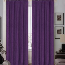 Sierra Rod Pocket Curtain Panel Pair