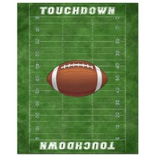Football Field Art Print