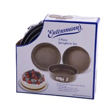 Classic 3 Piece Springform Pan Set