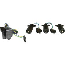 Trailer 7 to 4 Way Adapter with Wire