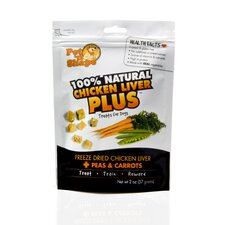 Freeze Dried Chicken Liver Plus Dog Treat