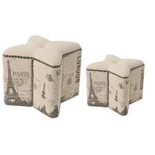London Ottoman (Set of 2)