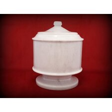 Lasting Tribute White Pet Urn