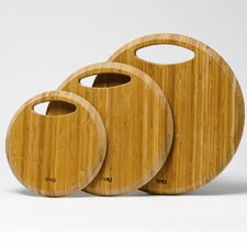 Entertaining Handbag Bamboo Cutting Board (Set of 3)