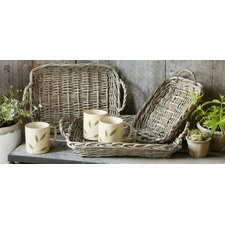 Baskets Rectangular Chalet Serving Tray (Set of 3)