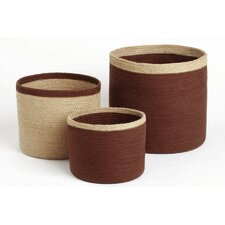 Autumn Jute Storage Basket (Set of 3)