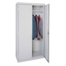 Elite Series Tall Mobile Wardrobe Cabinet