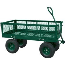 Jumbo Crate Wagon in Green